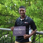 Brandon McClain Freshmen LEAD Service Director
